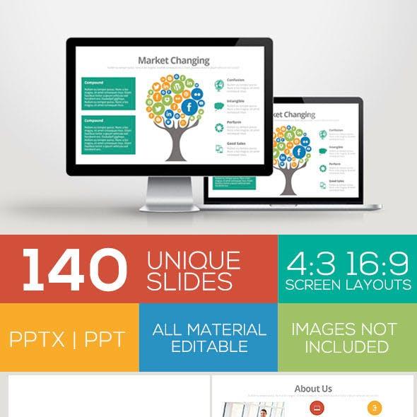 Jakarta Powerpoint Template Volume I