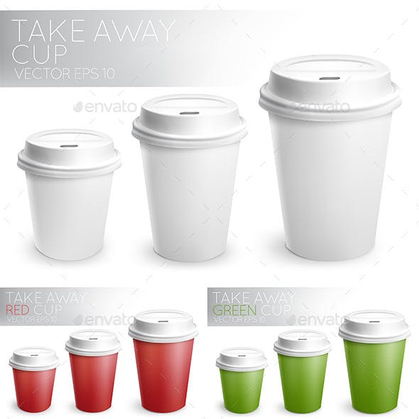 Take Away Paper Cups