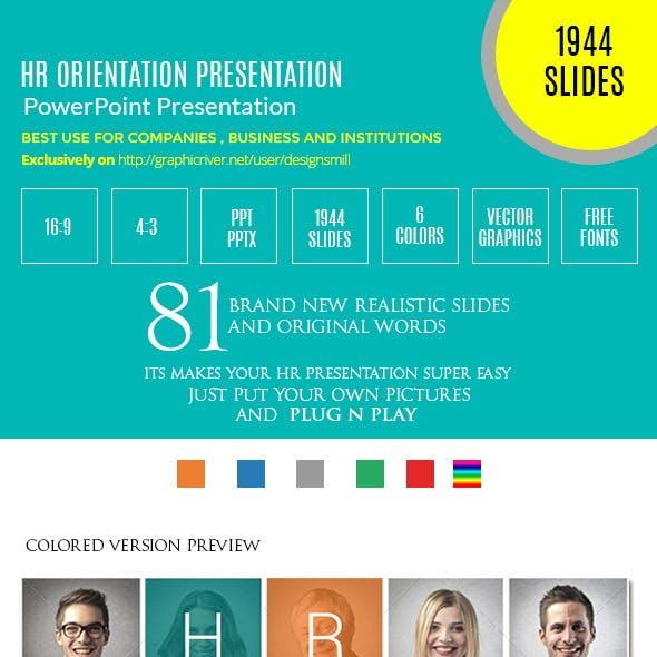 HR/Employee Orientation Presentation