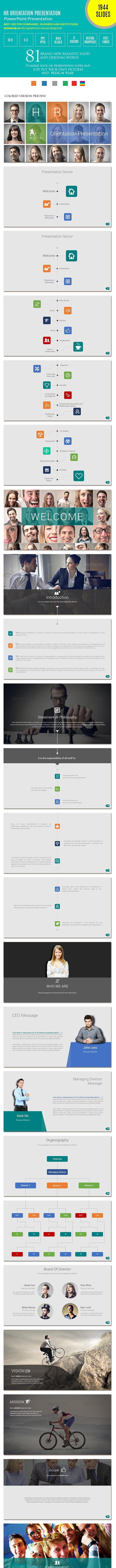 HR/Employee Orientation Presentation by designsmill | GraphicRiver