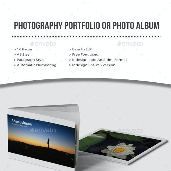 Photography Portfolio or Photo Album