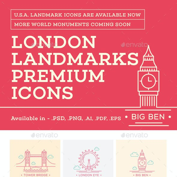 World Landmark Icons - Vol. 3 (London)