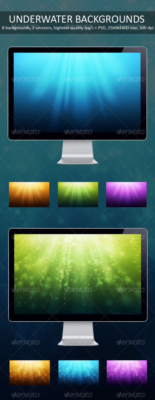 Underwater Backgrounds - Backgrounds Graphics