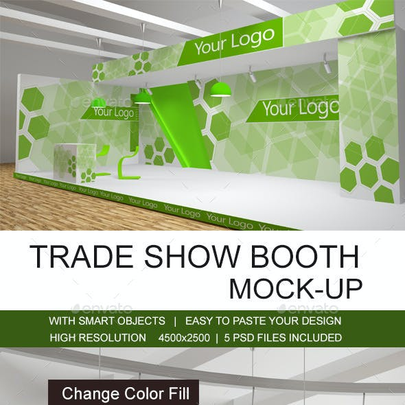 Trade Show Booth Mockups