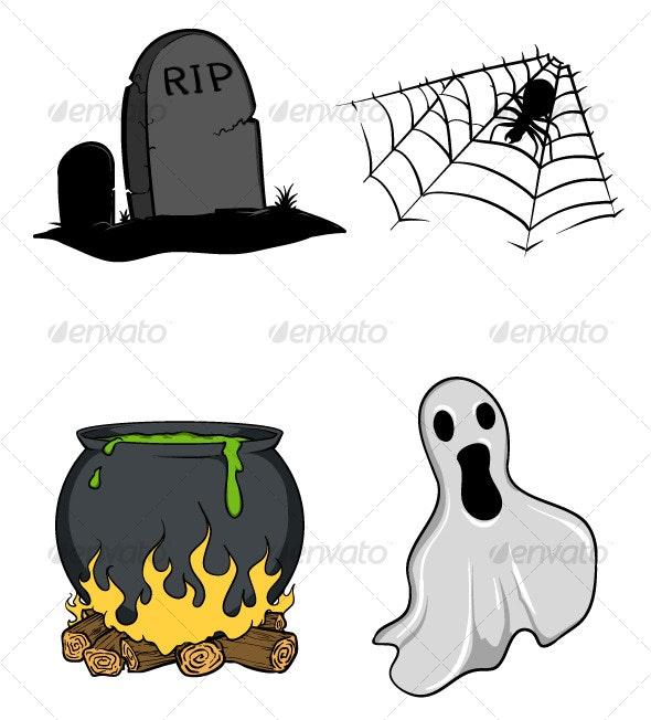Halloween vectors II  - Halloween Seasons/Holidays
