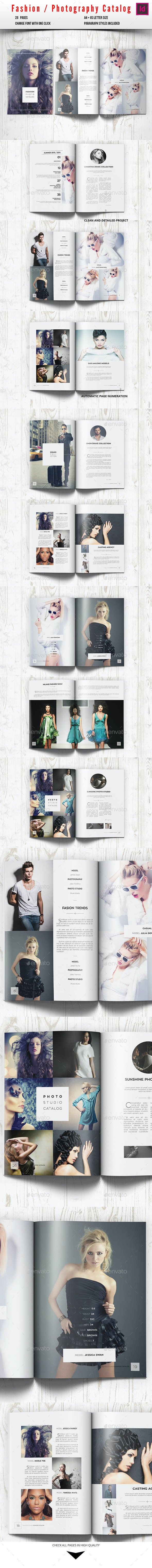 Fashion Photography Catalog / Brochure - Catalogs Brochures