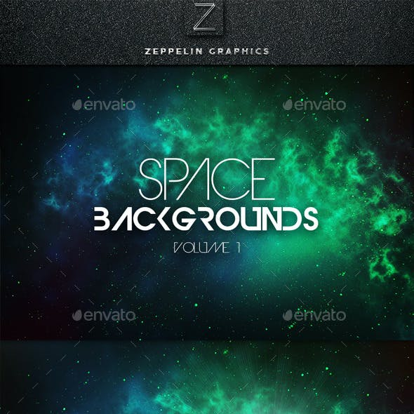 Space Backgrounds Vol.1