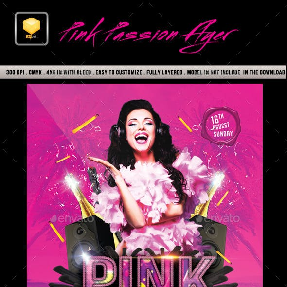 Pink Passion Flyer