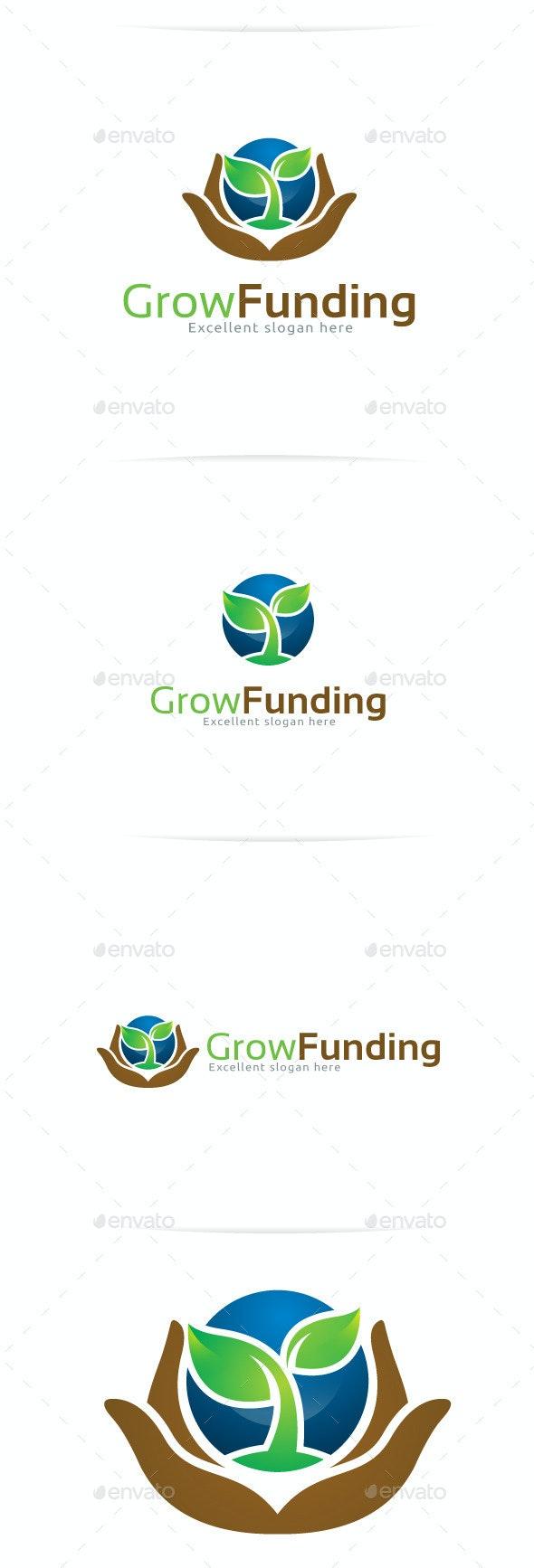 Grow Funding Logo Templates - Nature Logo Templates