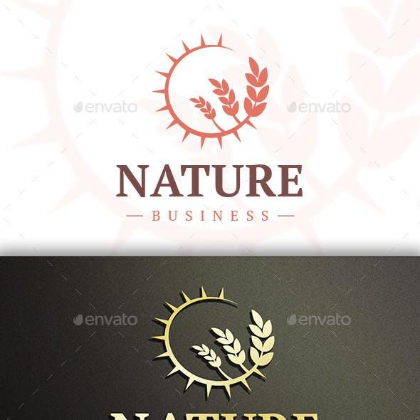 Sun Wheat Logo