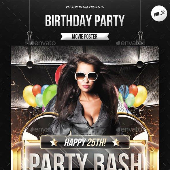Birthday Party - Flyer [Vol.2]