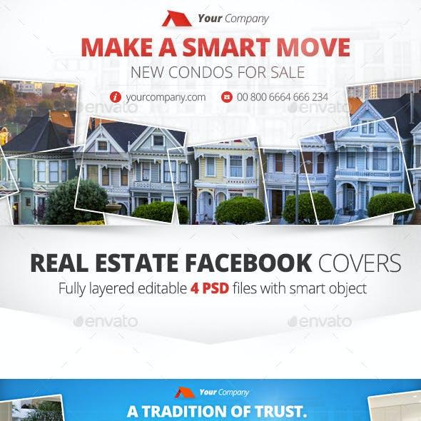 Real Estate Facebook Cover 4 PSD