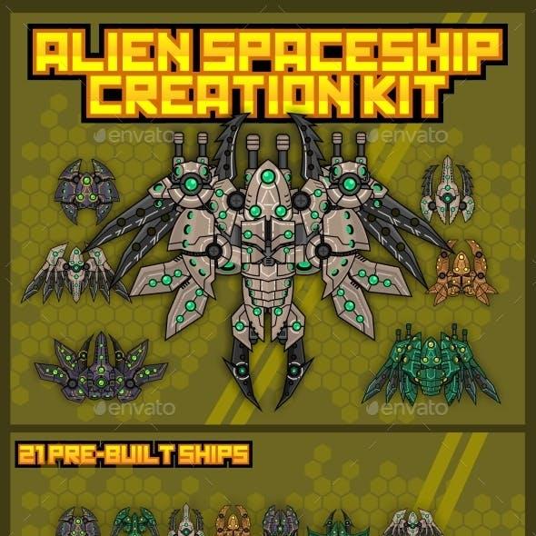 Alien Spaceship Creation Kit