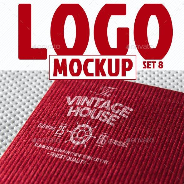Photorealistic Logo Mockup (pack 3/3)