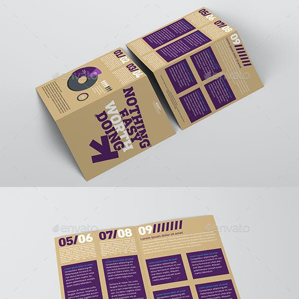 Bi-fold Brochure Mockup Pack