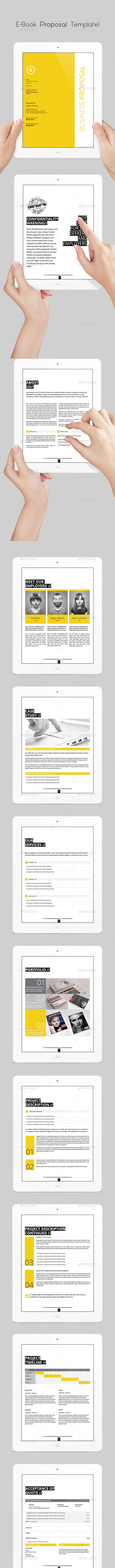 E-book Proposal Template - ePublishing