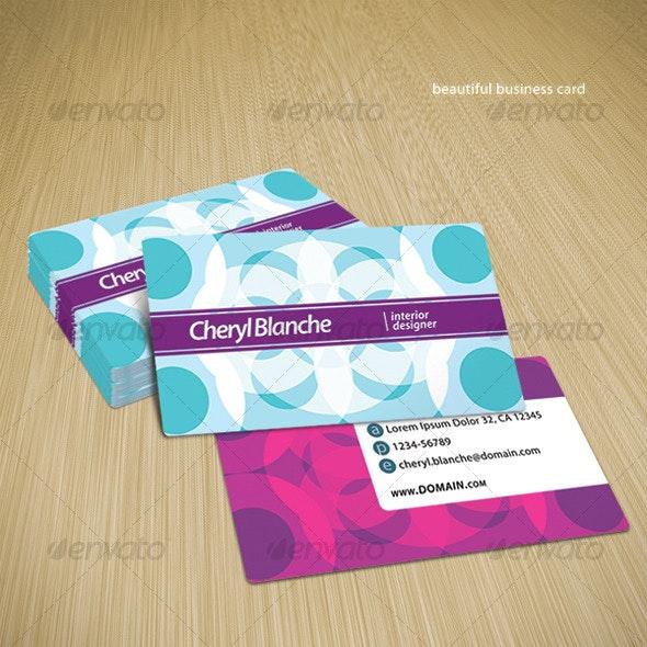 Beautiful Business Card - Creative Business Cards