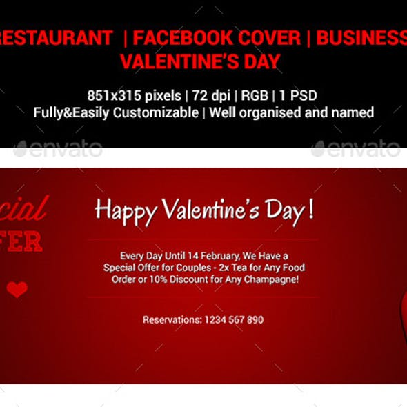 Valentine's Day | Business | Facebook Cover