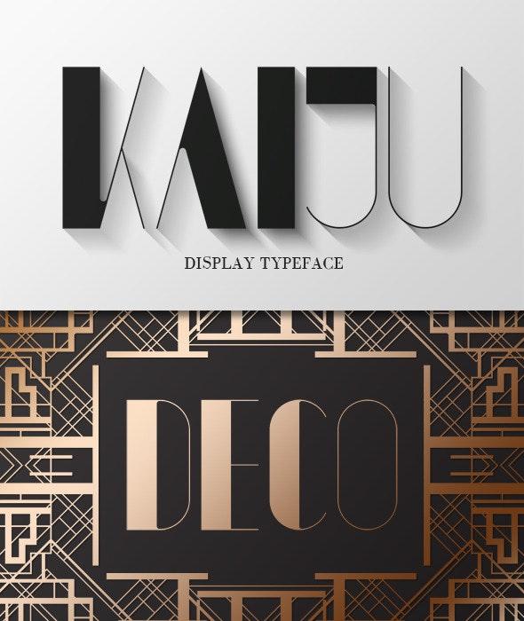 Kaiju - Sans-Serif Fonts