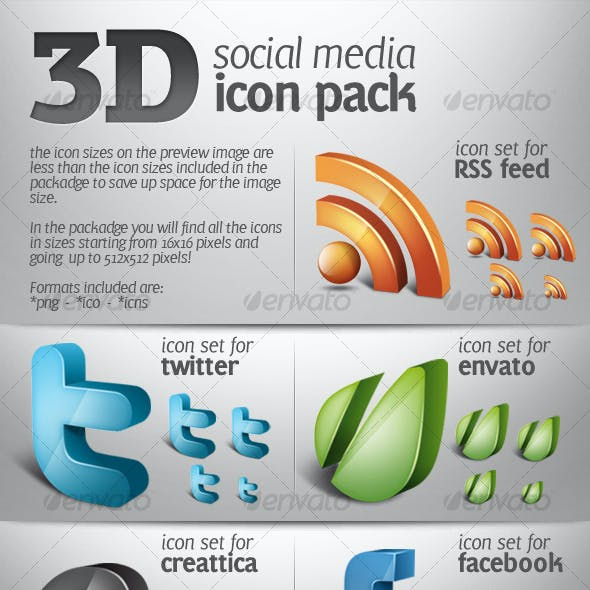3d Icons From Graphicriver
