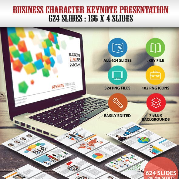 Business Character Keynote Presentation