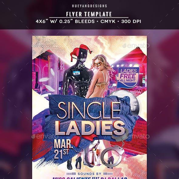 Single Ladies Flyer