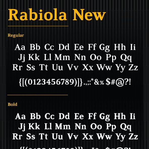 Rabiola New Serif