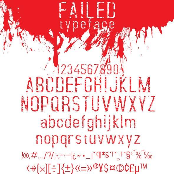 Failed Font