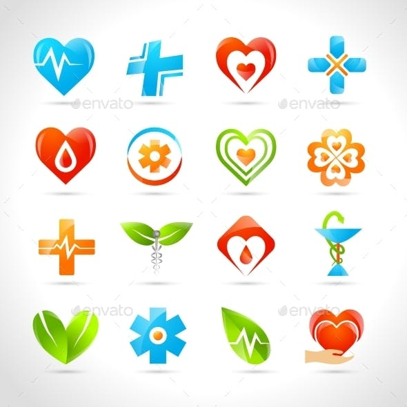 Medical Logo Icons