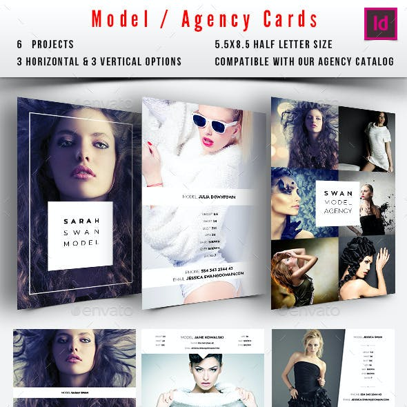 Model / Agency Comp Card