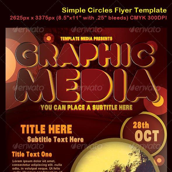 Simple Circles Flyer
