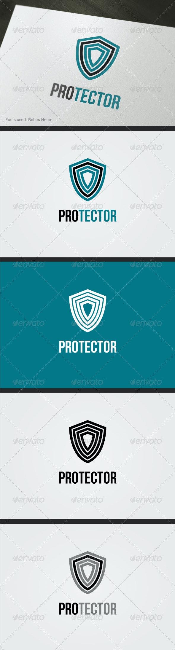 Protector Logo - Vector Abstract