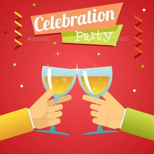 Celebration Success Prosperity Invitation Announce