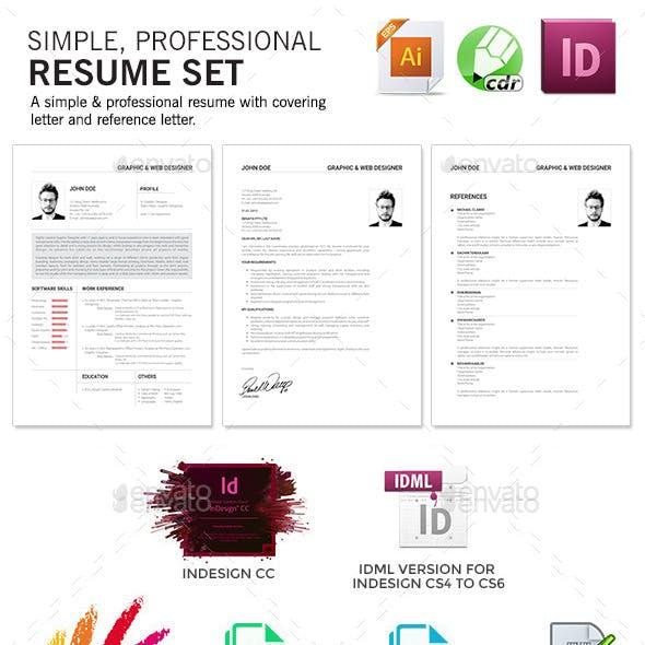 Agastya Resume Set