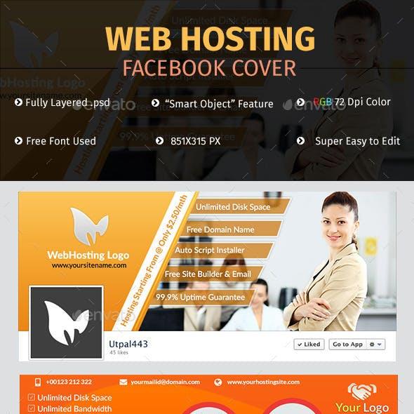 Web Hosting Facebook Cover