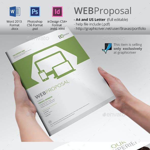 WEB Proposal Brochure Template