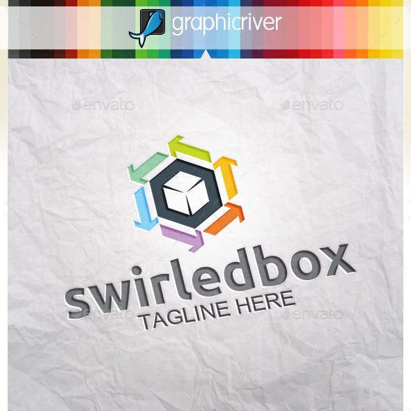 Swirled Box