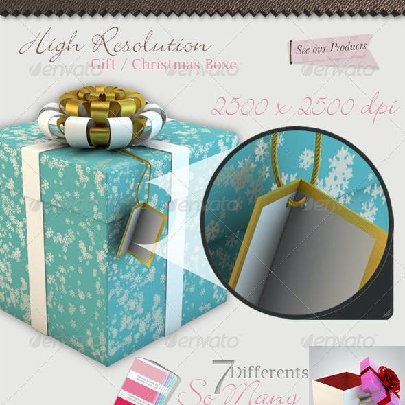 50 Christmas Gift Box Hi Quality