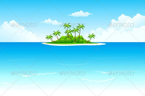 Tropical Island - Landscapes Nature