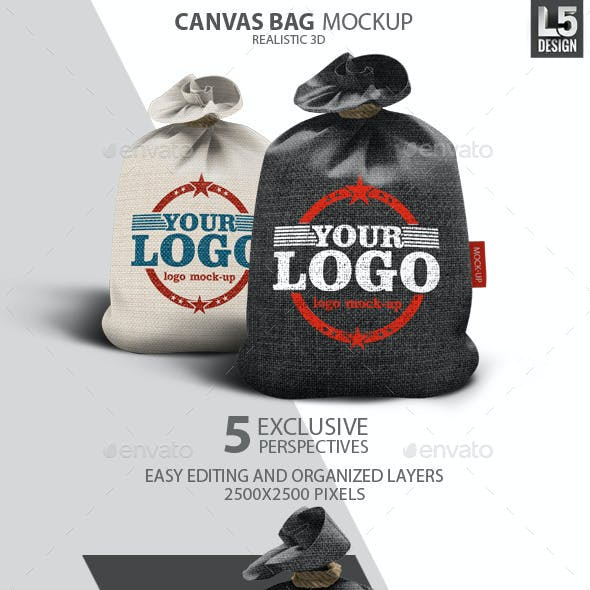 Canvas Bag Mock-Up