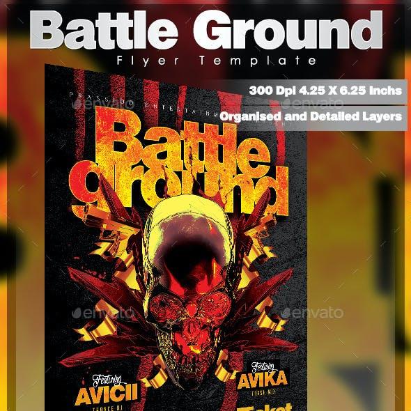 Battle Ground Flyer Template