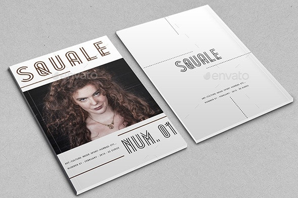 Squale - Magazine - Magazines Print Templates