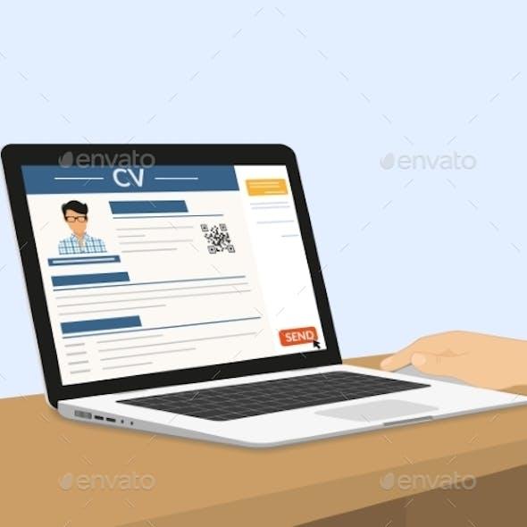 Sending CV Via E-Mail
