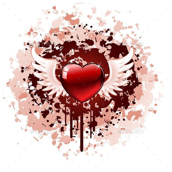 Valentines Day Grunge