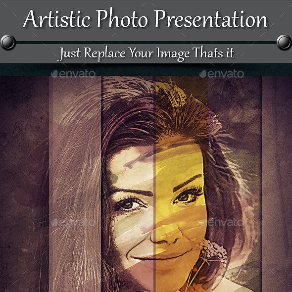 Artistic Photo Presentation