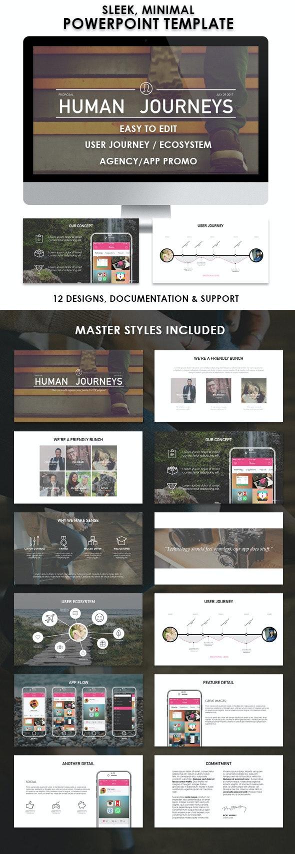 Human Journeys - PowerPoint Templates Presentation Templates