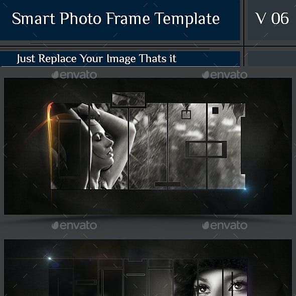 Smart Photo Frame Template V06