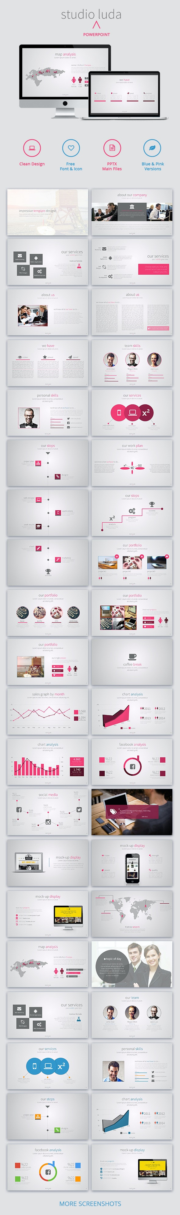 Luda Business Powerpoint Template - Business PowerPoint Templates