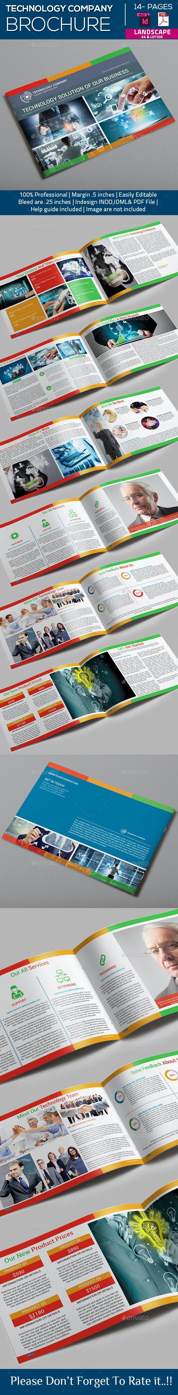 Technology Company Brochure - Catalogs Brochures