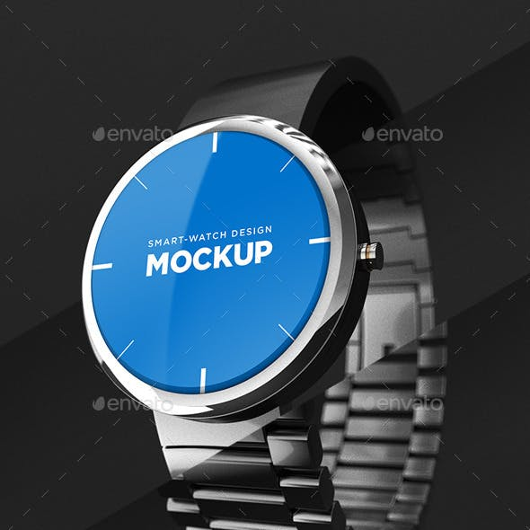 Smart-watch Design Mockup